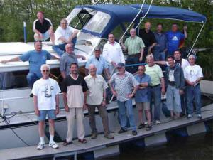 2006 2.Weg Männer Bootstour Saar
